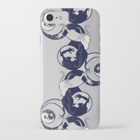 yin yang iPhone & iPod Cases featuring Yin & Yang by Charity Ryan
