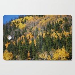 Fall at the Rockies Cutting Board