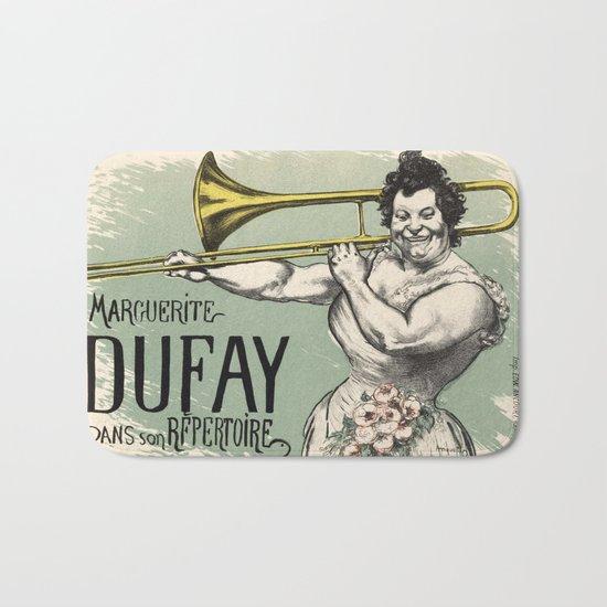 Marguerite Tromboniste Bath Mat