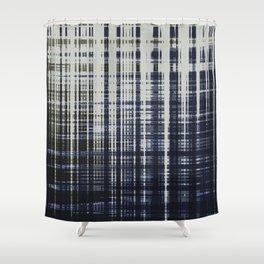 irregular check Shower Curtain