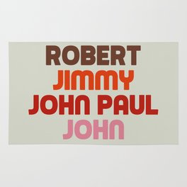 Robert Jimmy JohnPaul John Rug
