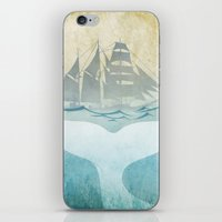 moby dick iPhone & iPod Skins featuring Moby by Vin Zzep