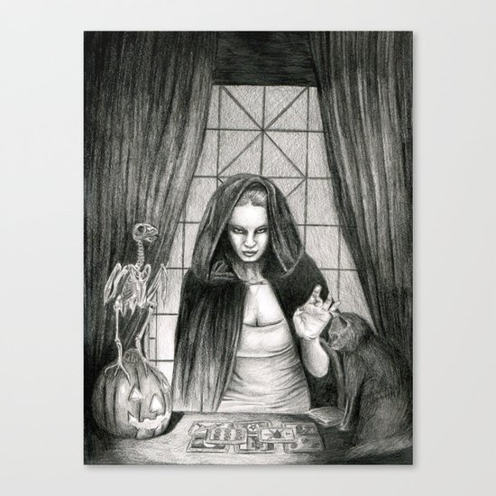 The Mis-Fortune Teller Canvas Print