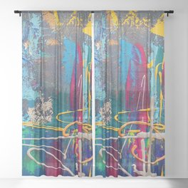 Tranquility Sheer Curtain
