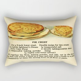 Pies - Vintage Rectangular Pillow