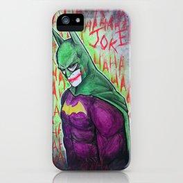 Joker was here iPhone Case