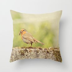 What's for breakfast?  Throw Pillow