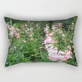 Towers of Flowering Foxglove Rectangular Pillow
