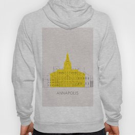 Annapolis Landmarks Poster Hoody