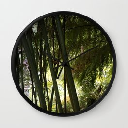 The Jungle of Heligan Wall Clock