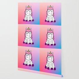 Happy Unicorn Wallpaper