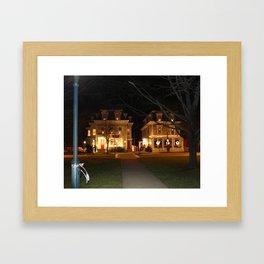 Quaint Christmas  Framed Art Print