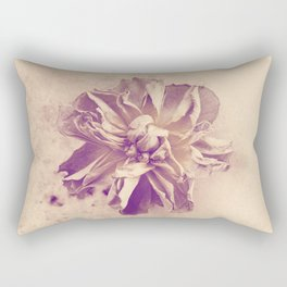 Vintage rose Rectangular Pillow
