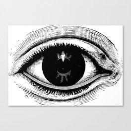 """Wonder World"" - The Eye Canvas Print"