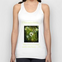bee Tank Tops featuring Bee  by Rob Hawkins Photography