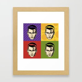 Johnny Depop Framed Art Print