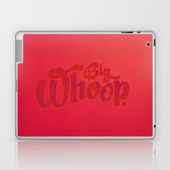 Big Whoop Laptop & iPad Skin