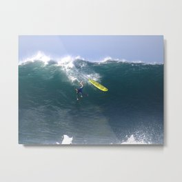 Wedge Wipeout Newport Beach California Metal Print