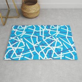 Blue maze Rug