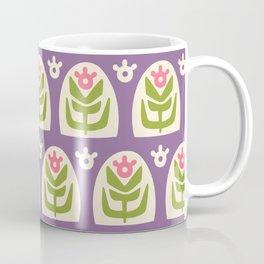 Mid Century Modern Sunflower 103 Coffee Mug