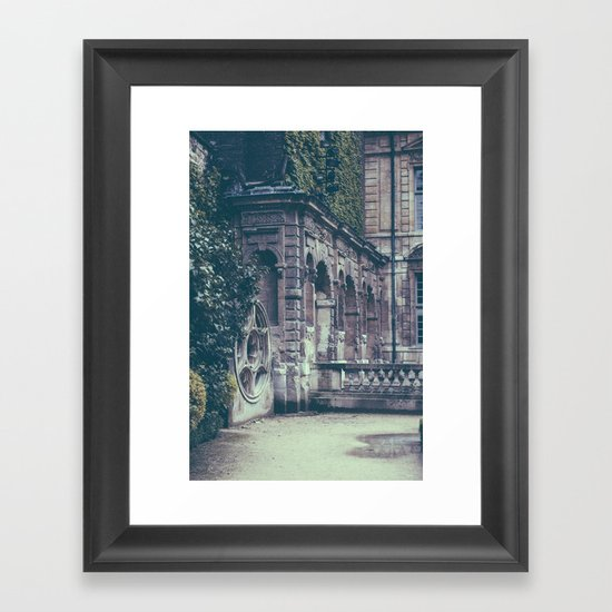 French Garden   Framed Art Print