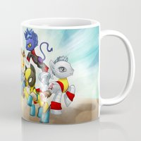 mlp Mugs featuring MLP X-Men by Kimball Gray