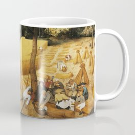 The Harvesters by Pieter Bruegel the Elder, 1565 Coffee Mug