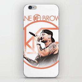 kane brown tour world 2018 iPhone Skin