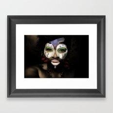 bleuGRN Framed Art Print