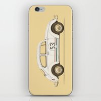 vw iPhone & iPod Skins featuring Famous Car #4 - VW Beetle by Florent Bodart / Speakerine