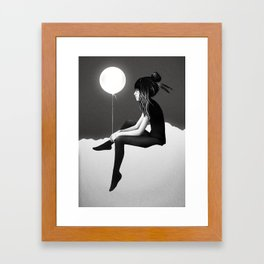 No Such Thing As Nothing (By Night) Framed Art Print