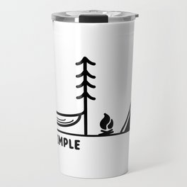 Live Simple Travel Mug