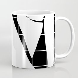 After Matisse nude in black and white Coffee Mug