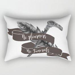 No Mourners No Funerals Rectangular Pillow