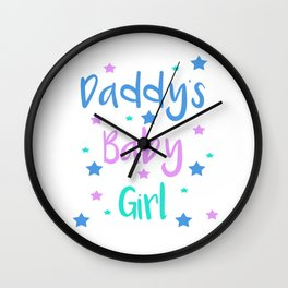 Daddy s Baby Girl Brat Little DDLG Ageplay Wall Clock