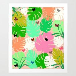 Tropical Heaven Art Print