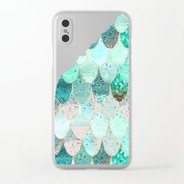SUMMER MERMAID Clear iPhone Case