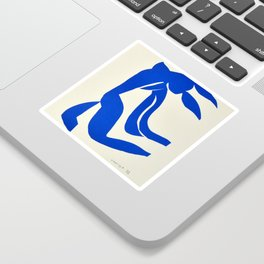 Blue Nude Dancing - Henri Matisse Sticker