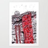 HotFall Art Print