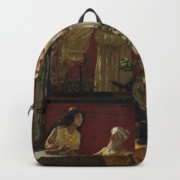 """The Oracle,"" Camillo Miola, 1880 Backpack"