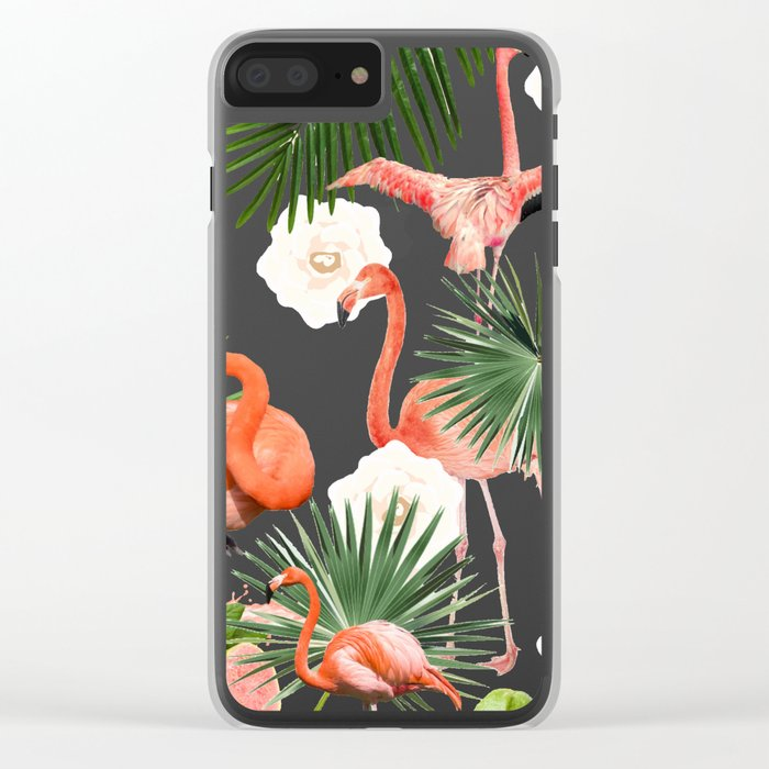 Flamingo Guava #society6 #decor #buyart Clear iPhone Case