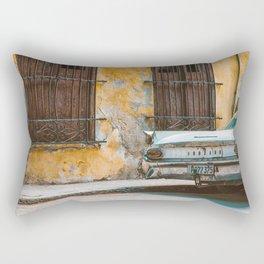 Old Havana Walls Rectangular Pillow