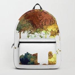 Fort Worth, Texas Skyline SG - Safari Buff Backpack