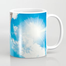 Flatiron Building on a sunny day in New York Coffee Mug