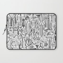 Medical Condition B&W Laptop Sleeve