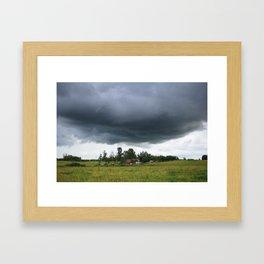 Impending Framed Art Print