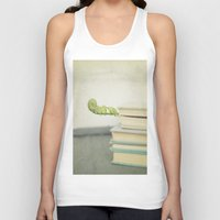 books Tank Tops featuring Books by Pure Nature Photos