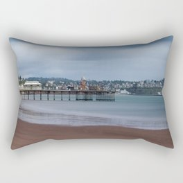 Paignton Pier Rectangular Pillow