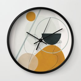 Abstract Shapes No.30 Wall Clock