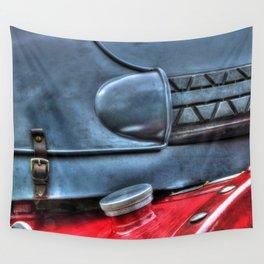 Vintage Car Petrol Tank Wall Tapestry